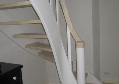 Tidligere udført opgave for kunde. Her er det trappen der er lavet